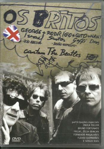 dvd os britos - 2006 - kid abelha, barão,tributo the beatles