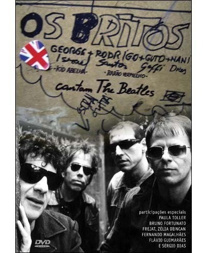 dvd os britos cantam beatles frejat zélia toller sergio dias