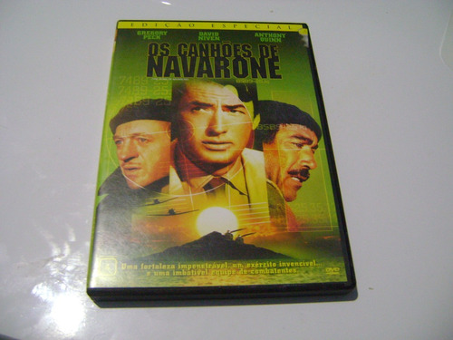 dvd os canhoes de navarone gregory peck anthony quinn