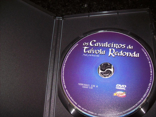 dvd - os cavaleiros da tavola redonda-robert taylor-nacional