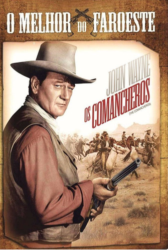 dvd os comancheros, john wayne, lee marvin 1961 faroeste +