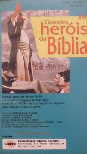 dvd os grandes heróis da biblia coleção completa