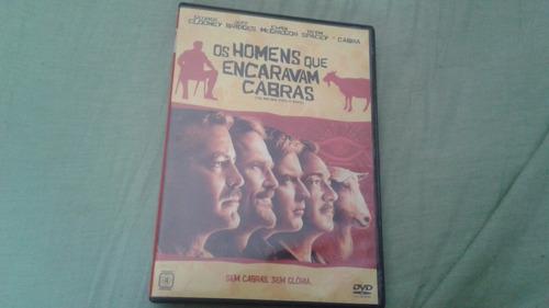 dvd : os homens que encaravam cabras
