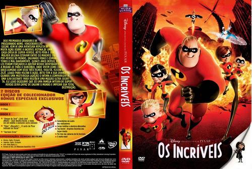 dvd os incríveis 1 e 2