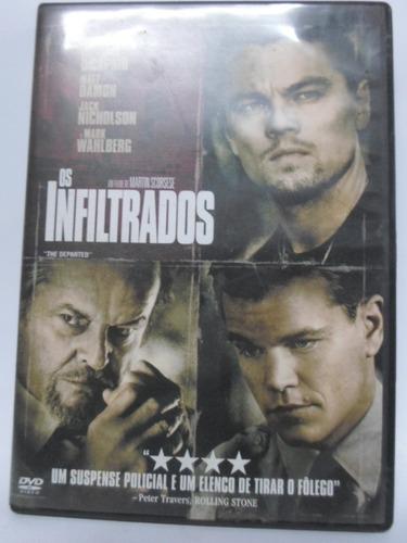 dvd os infiltrados - original