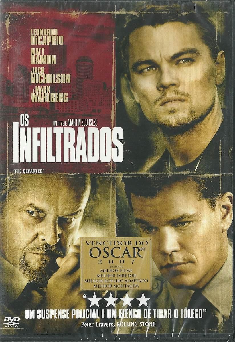 Dvd Os Infiltrados - Vencedor Oscar 2007 - Leonardo Dicaprio