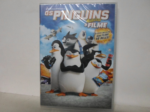 dvd os pinguins de madagascar - o filme - lacrado - original