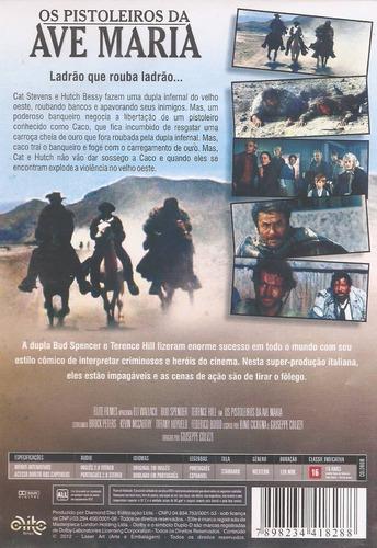 dvd os pistoleiros da ave maria - bud spancer e terence hill