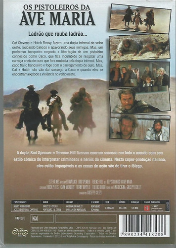 dvd - os pistoleiros da ave maria- bud spencer - lacrado