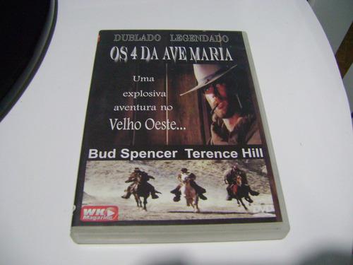 dvd os quatro da ave maria bud spencer terence hill