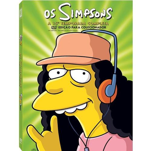 dvd os simpsons: 15ª temporada