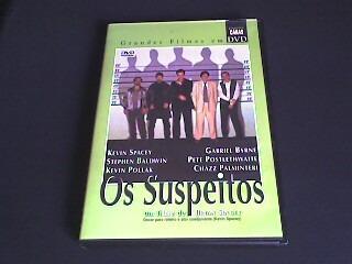dvd os suspeitos (original)