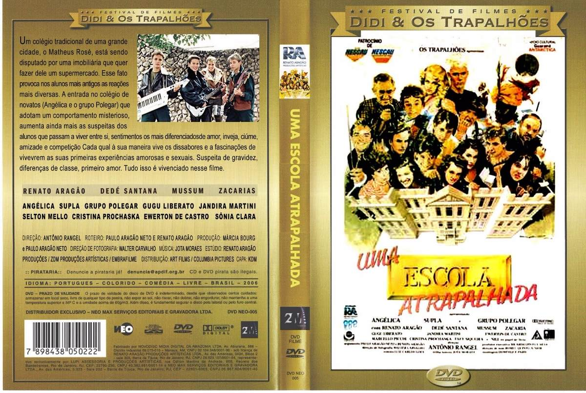 dvd festival os trapalhoes