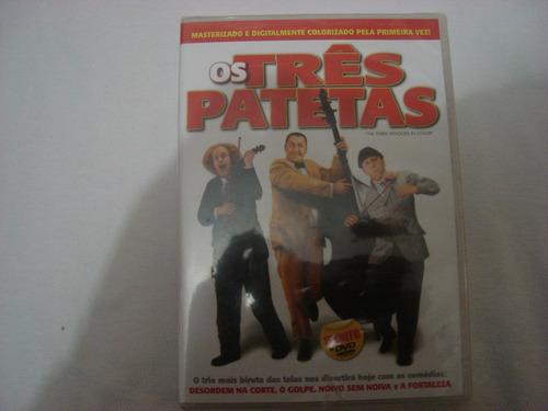 dvd os tres patetas inedito  lacrado