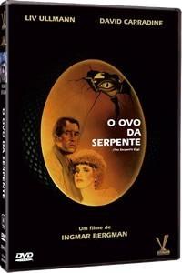 dvd ovo da serpente, de ingmar bergman - liv ullmann,  1977+