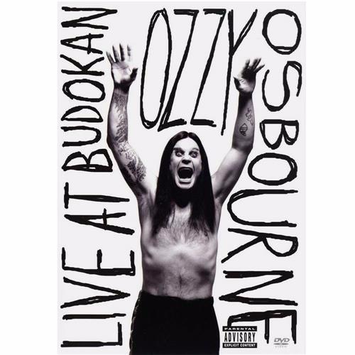 dvd ozzy osbourne* live at budokan