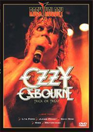 dvd ozzy osbourne - trick or treat - rockthology rock metal