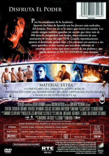 dvd pacto infernal dvd