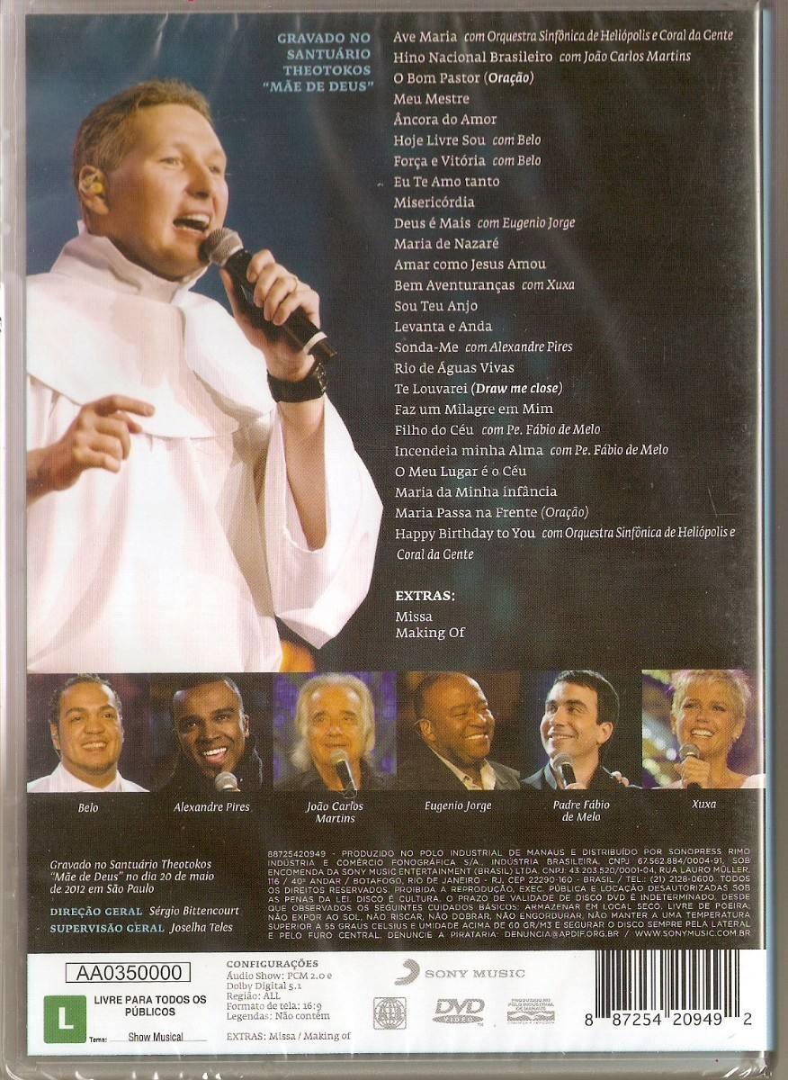 dvd gratis padre marcelo rossi agape