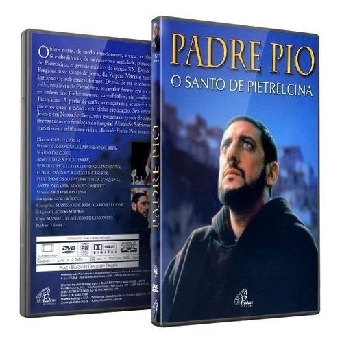 dvd - padre pio - o santo de pietrelcina