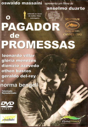 dvd pagador de promessas, anselmo duarte, gloria meneses  +