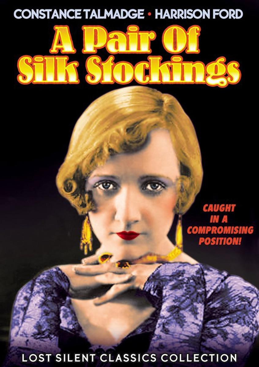 e4623e174de Dvd   Pair Of Silk Stockings (black   White