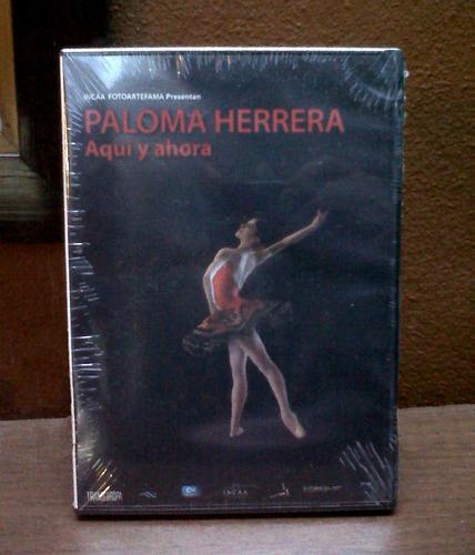 dvd  paloma herrera, aquí y ahora  + libro  encuentro