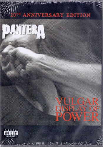 dvd pantera - vulgar display of power - novo***