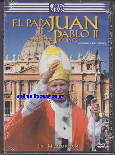 dvd papa juan pablo segundo en español nuevo sellado 58 mins