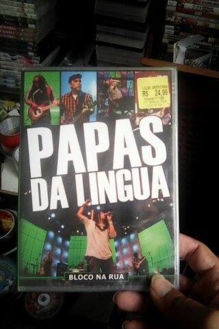 dvd papas da lingua bloco na rua