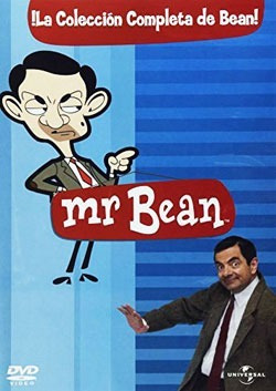 dvd paq. mr bean