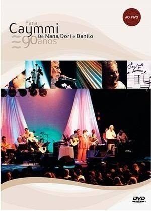 dvd para caymmi 90 anos de nana dori e danilo (2004) lacrado