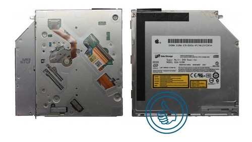 dvd para laptop macbook a1181 a1211 a1150 ide gsa-s10n