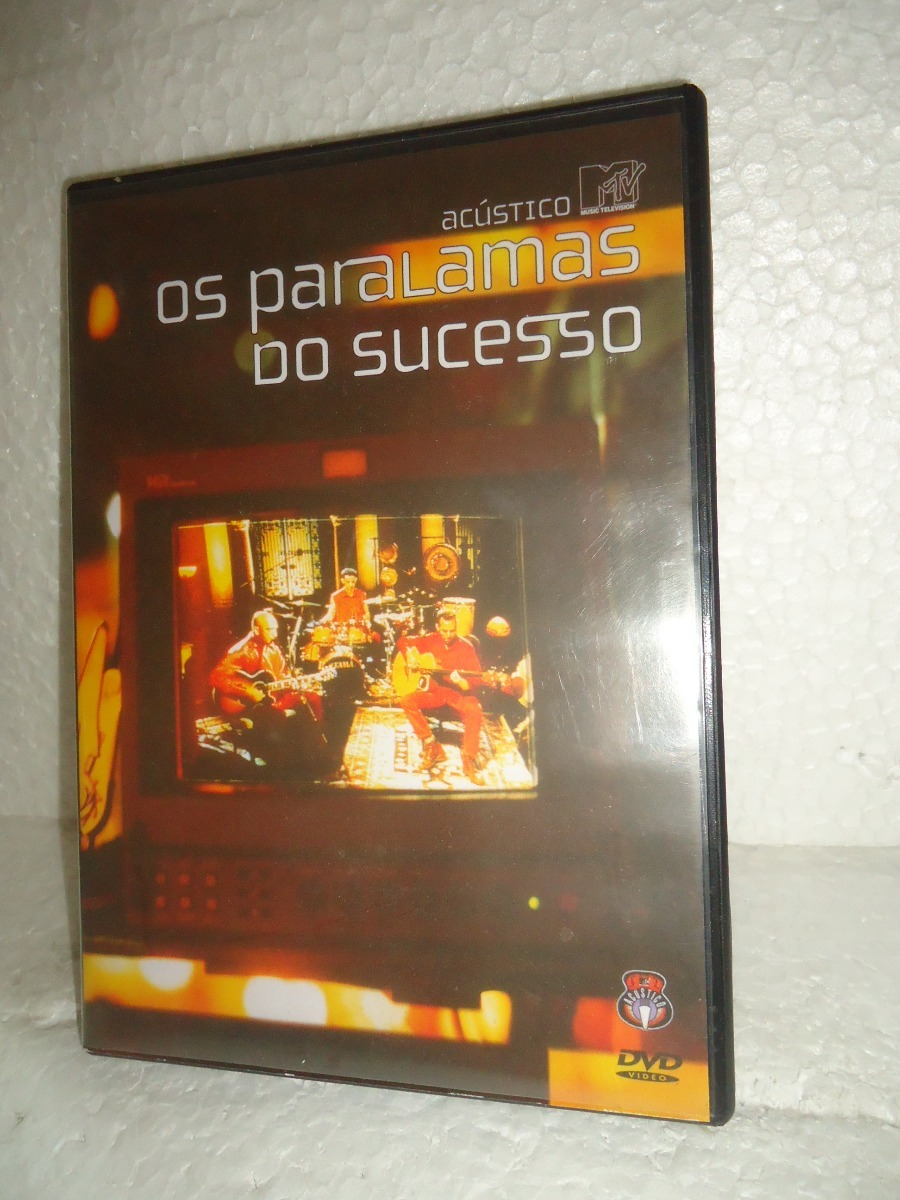dvd paralamas do sucesso acustico