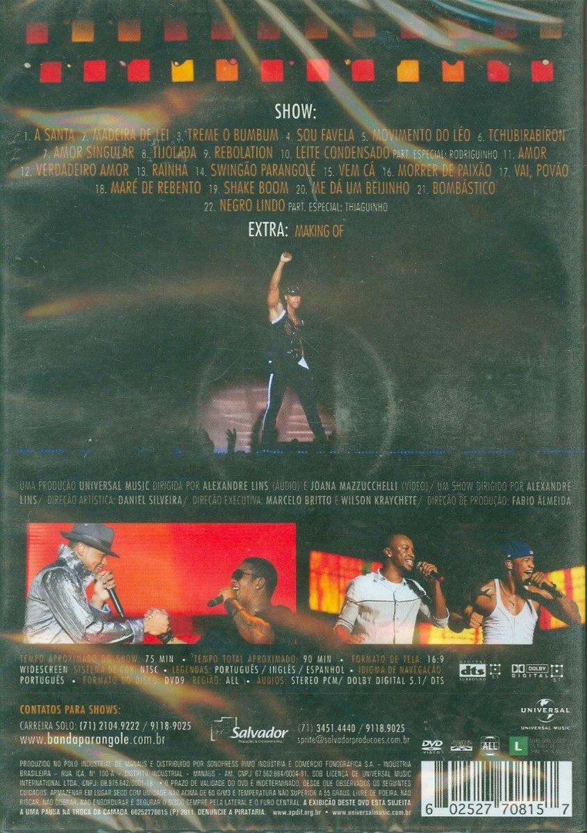 audio do dvd parangole todo mundo gosta