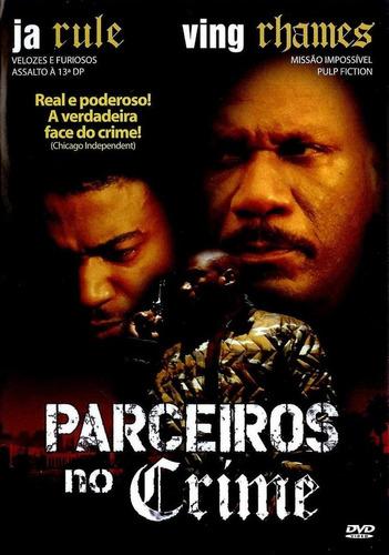 dvd - parceiros no crime