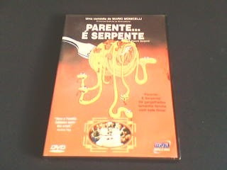 dvd  parente é serpente