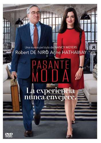 dvd pasante de moda - the intern origina estreno warner 2017