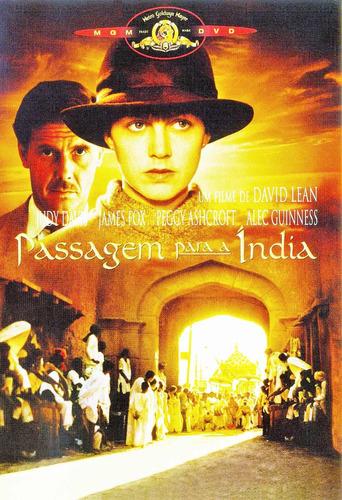 dvd passagem para a índia, de david lean, com alec guiness +