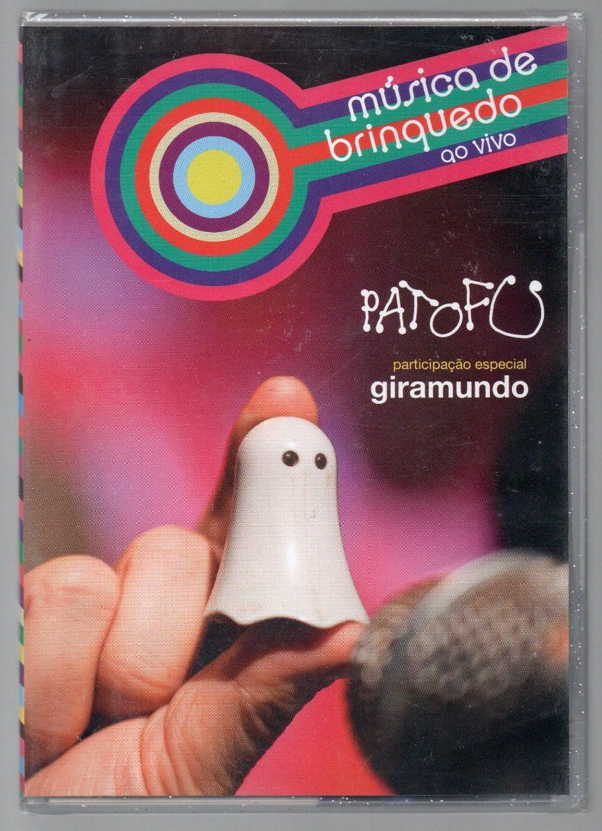 dvd pato fu musica de brinquedo ao vivo