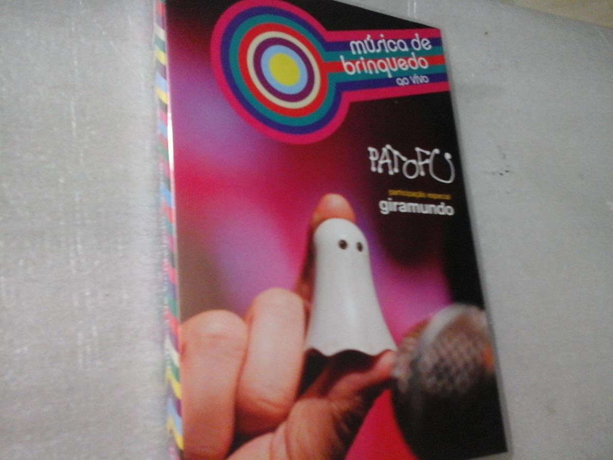 dvd patu fu musica de brinquedo