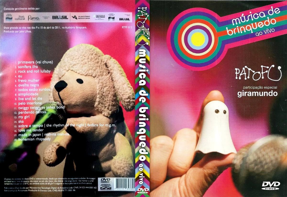 dvd pato fu musica de brinquedo