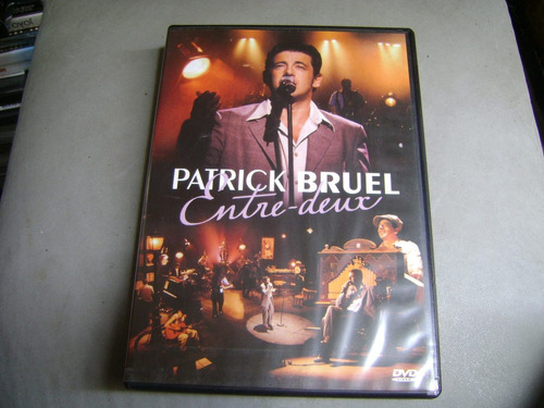 dvd patrick bruel entre deux