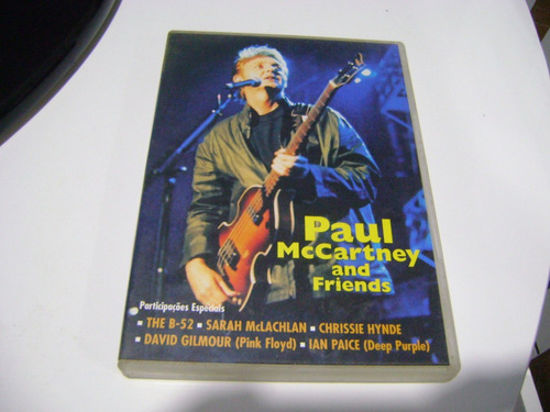dvd paul mccartney and friends