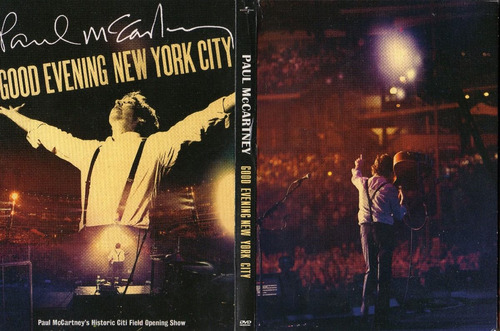 dvd paul mc'cartney - good evening new york city