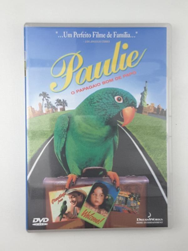 Dvd Paulie O Papagaio Bom De Papo Hallie Kate Eisenberg