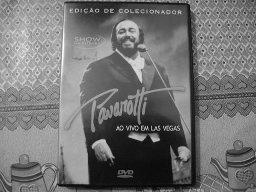 dvd pavarotti  ao vivo em las vegas