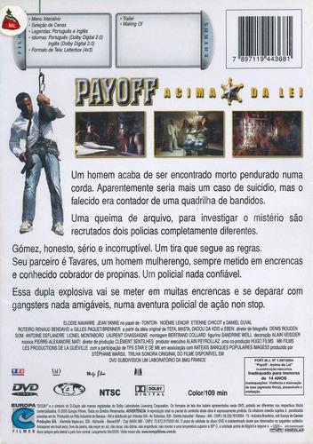 dvd - payoff acima da lei