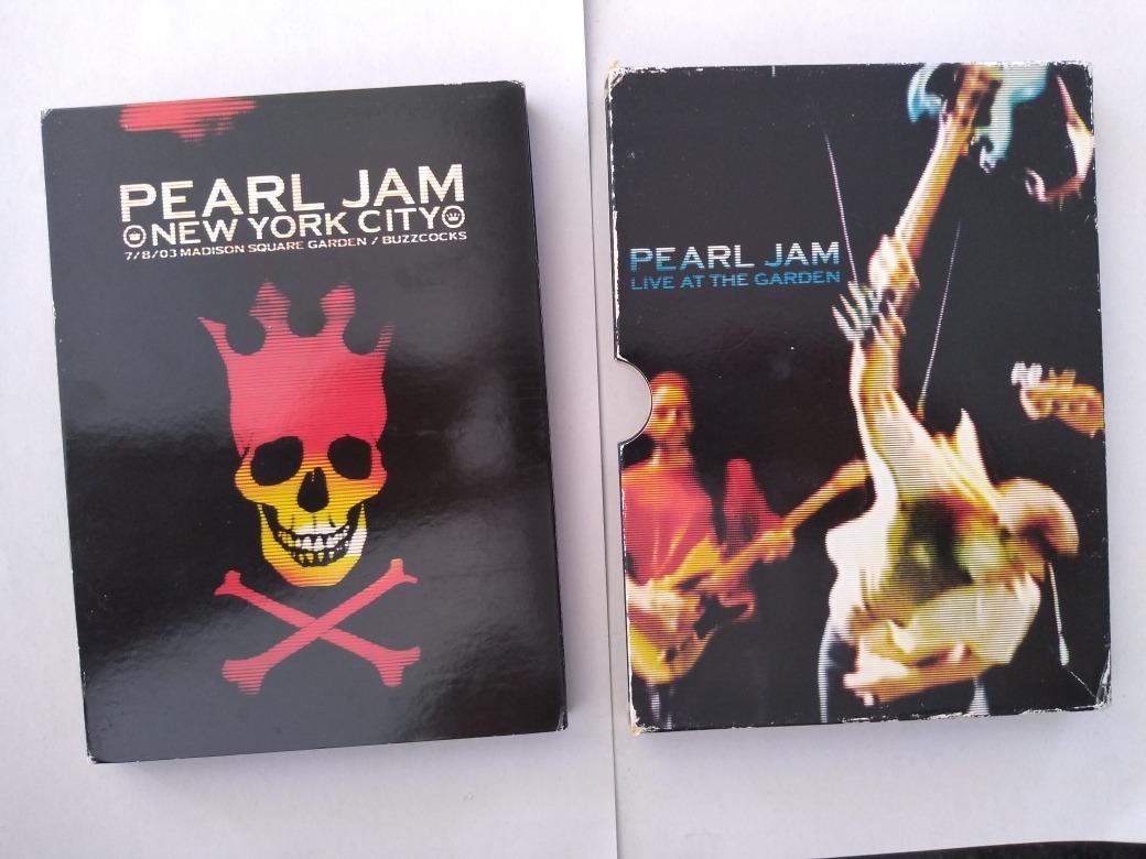 Dvd Pearl Jam Live At The Garden Duplo Original