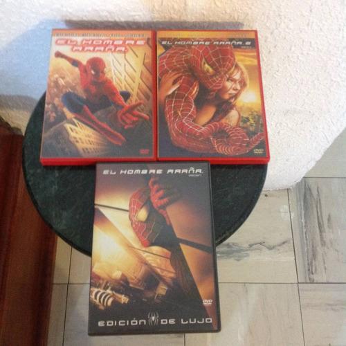 dvd película el hombre araña